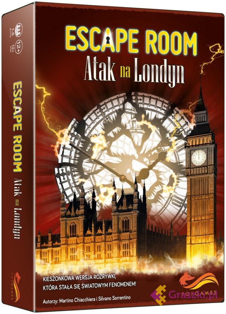 Escape Room: Atak na Londyn | FoxGames // darmowa dostawa od 249.99 zł // wysyłka do 24 godzin! // odbiór osobisty w Opolu